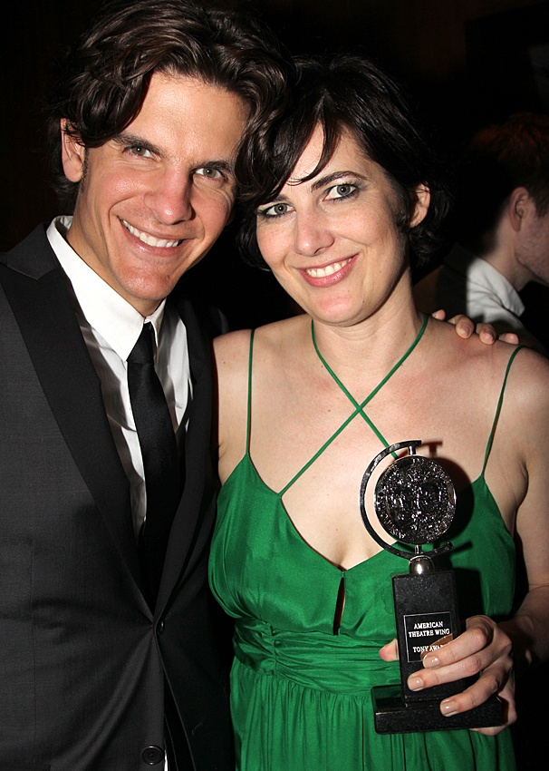 2012 Tony Awards – O&M After Party – Alex Timbers – Paloma Young