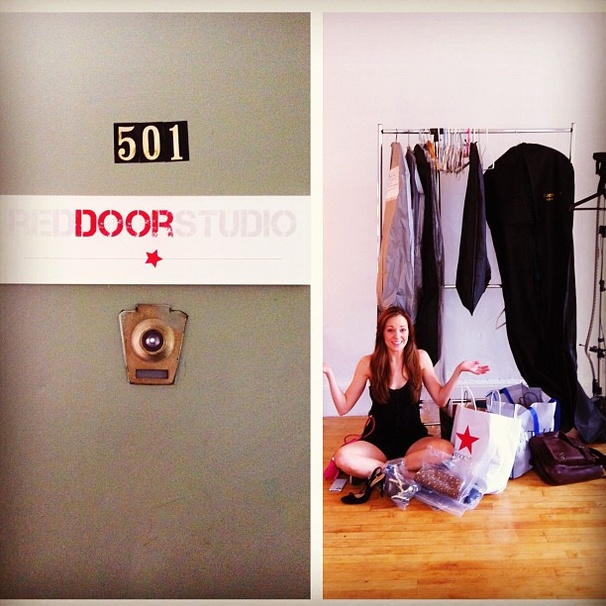 2012 Tony Awards Instagram Snapshots – Laura Osnes