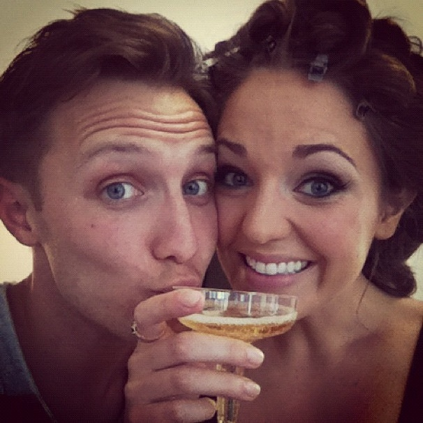 2012 Tony Awards Instagram Snapshots – Laura Osnes –Nathan Johnson