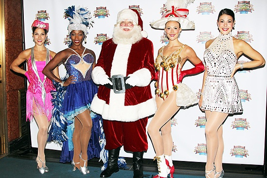Radio City  Christmas in August- Jacey Lambros  Nikki Hester- Santa- Megan Levinson  Synthia Link