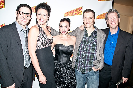 Forbidden Broadway Opening - Marcus Stevens- Natalie Charle Ellis- Jenny Lee Stern-Scott Richard Foster-David Caldwell