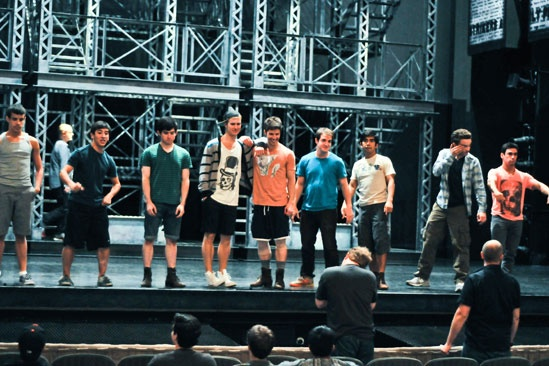 Newsies –Backstage- The Newsboys