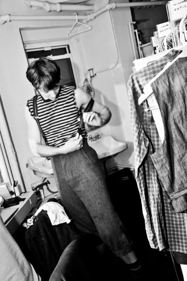 Newsies Backstage- Mike Faist
