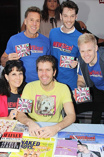 Broadway Flea Market – Christine Pedi- Michael West- Perez Hilton- Ryan Knowles-Tommy Walker