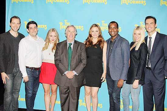 The Performers - Company - David West Read - Evan Cabnet - Jenni Barber - Henry Winkler - Daniel Breaker - Ari Graynor - Cheyenne Jackson