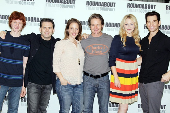 'Mystery of Edwin Drood' Photo Event — Nicholas Barasch — Robert Creighton — Jessie Mueller — Peter Benson — Betsy Wolfe — Andy Karl