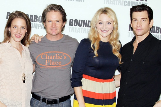 'Mystery of Edwin Drood' Photo Event — Jessie Mueller — Peter Benson — Betsy Wolfe — Andy Karl