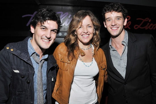 'Marry Me a Little' Opening Night — Wesley Taylor — Alice Ripley — Michael Urie