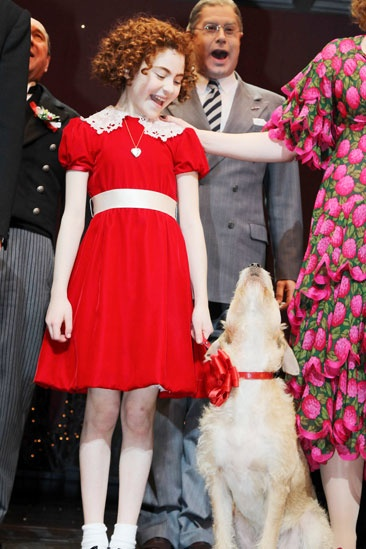 Annie- Lilla Crawford- Sunny 
