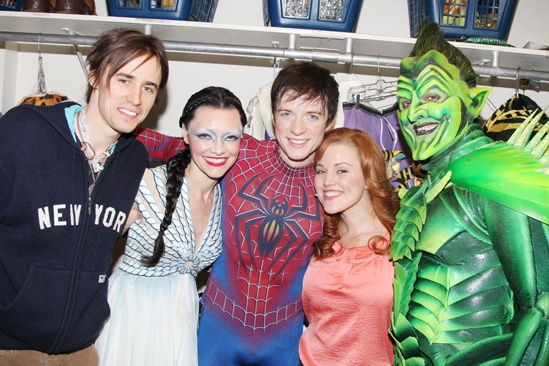 Spider-Man - Matthew James Thomas Farewell - Reeve Carney - Katrina Lenk - Matthew James Thomas - Rebecca Faulkenberry - Robert Cuccioli