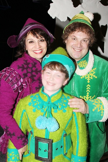 Elf – Curtain Call – Nov 9 – Beth Leavel – Mitchell Sink – Jordan Gelber