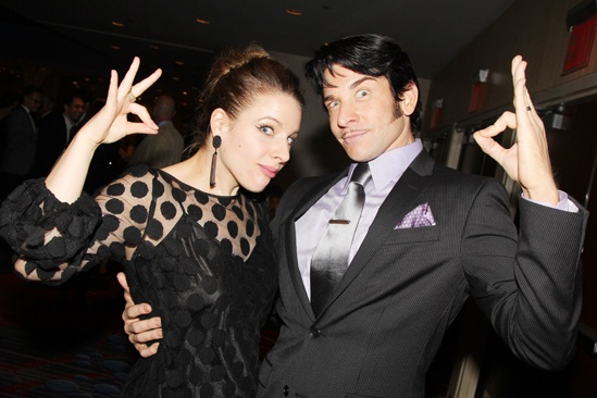 'Mystery of Edwin Drood' Opening Night — Jessie Mueller — Andy Karl