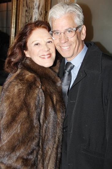 'Mystery of Edwin Drood' Opening Night — Linda Lavin — Steve Bakunas