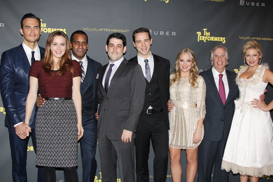The Performers - opening night - Cheyenne Jackson - Alicia Silverstone - Daniel Breaker - Evan Cabnet - David West Read - Jenni Barber - Henry Winkler - Ari Graynor