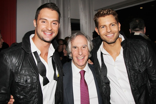 The Performers – opening night – Jaymes Vaughn – Henry Winkler – James Davis