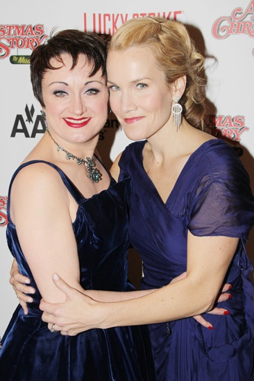 'A Christmas Story' Opening Night — Caroline O'Connor — Erin Dilly