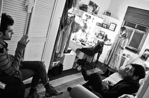 Starcatcher-Backstage-Adam Chanler-Berat-Celia Keenan-Bolger-Teddy Bergman