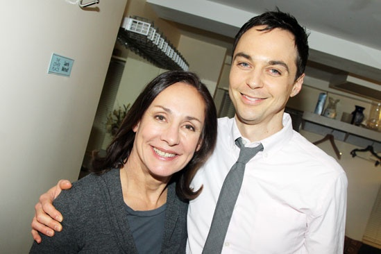 Jim Parson stops by &#39;The Other Place&#39; - Laurie Metcalf - Jim Parsons 