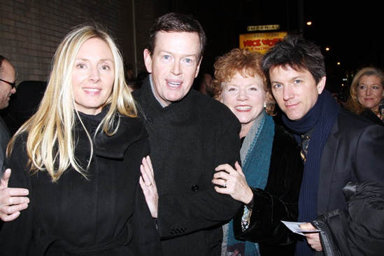 Cat on a Hot Tin Roof  opening  Hope Davis  Dylan Baker  Becky Ann Baker  Patrick Walker