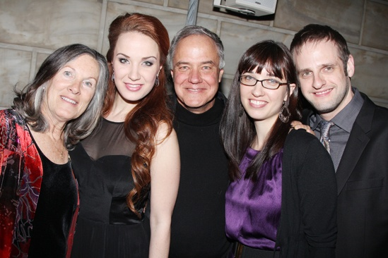 Phantom – 25th Anniversary – Sierra Boggess – family