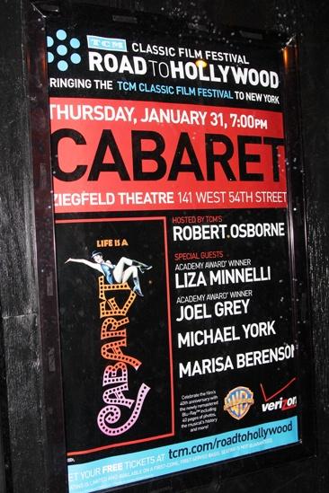 'Cabaret' 40th Anniversary — Poster