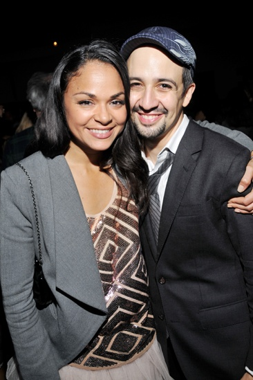 In The Heights Reunion Concert — Karen Olivo — Lin-Manuel Miranda