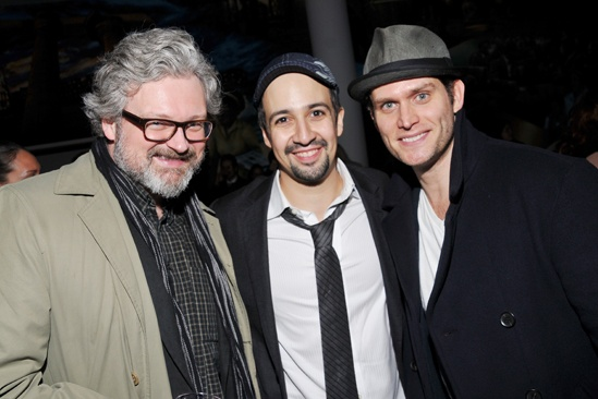 In The Heights Reunion Concert — John Ellison Conlee — Lin-Manuel Miranda — Steven Pasquale