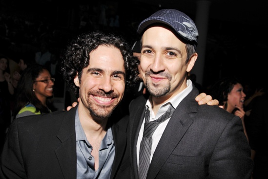 In The Heights Reunion Concert  Alex Lacamoire  Lin-Manuel Miranda