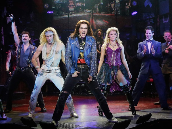 Show Photos - Rock of Ages - Genson Blimline - Joey Calveri - Justin Matthew Sargent - Kate Rockwell - Cody Scott Lancaster