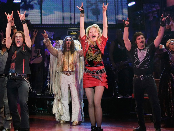 Show Photos - Rock of Ages - Justin Matthew Sargent - Adam Dannheisser - Kate Rockwell - Genson Blimline