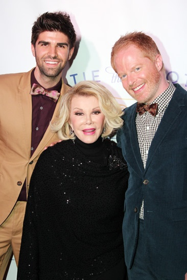 Tie The Knot – Press Event – Justin Mikita – Joan Rivers – Jesse Tyler Ferguson