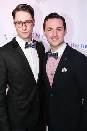 Tie The Knot  Press Event  Daniel Rowan  Max von Essen