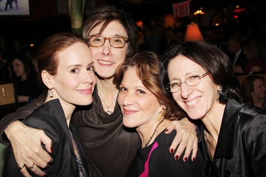 'Talley's Folly' Opening — Sarah Paulson — Robyn Goodman — Linda Lavin — Anna Louizos
