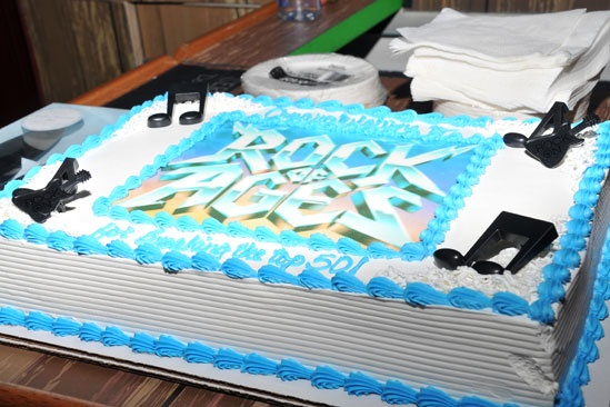 Rock of Ages – 50 Longest Running – cake