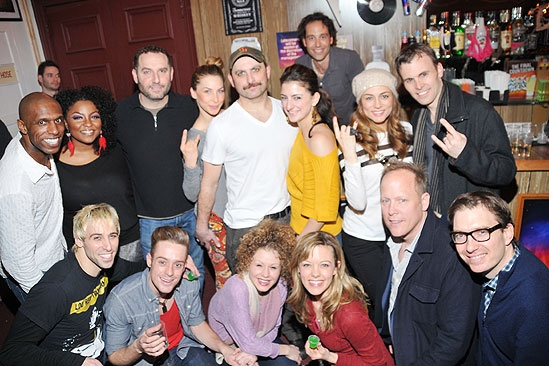 Rock of Ages  50 Longest Running  cast