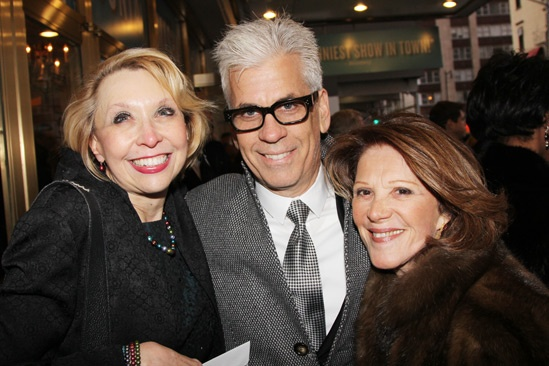 'Vanya and Sonia and Masha and Spike' Opening — Julie Halston — Steve Bakunas — Linda Lavin