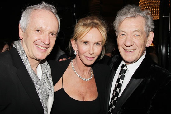 'Breakfast at Tiffany's' Opening — Sean Mathias — Trudie Styler — Ian McKellen
