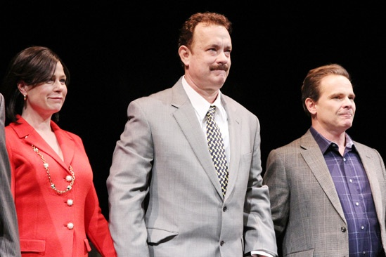 'Lucky Guy' Opening — Maura Tierney — Tom Hanks — Peter Scolari