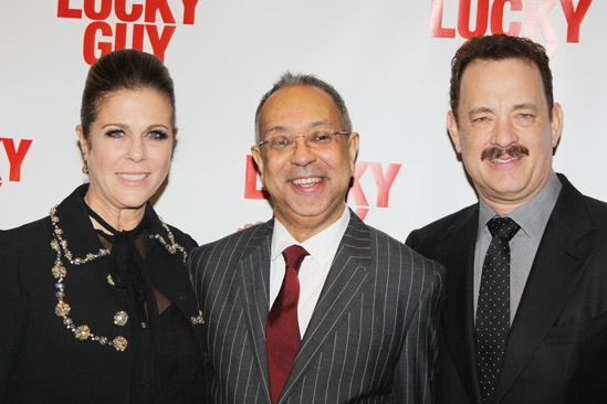 'Lucky Guy' Opening — Rita Wilson — George C. Wolfe — Tom Hanks