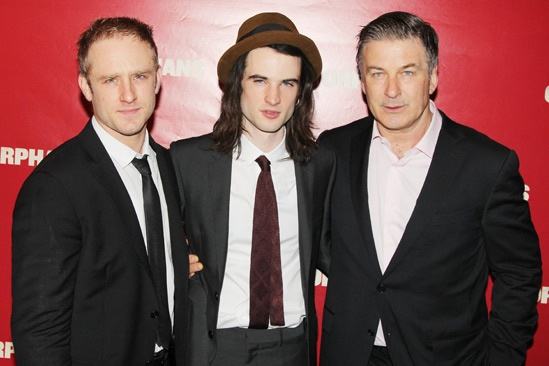 Orphans – Opening Night – Ben Foster – Tom Sturridge – Alec Baldwin