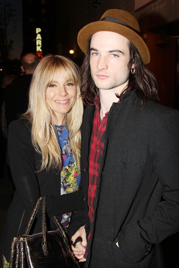 'Testament of Mary' Opening Night — Sienna Miller — Tom Sturridge