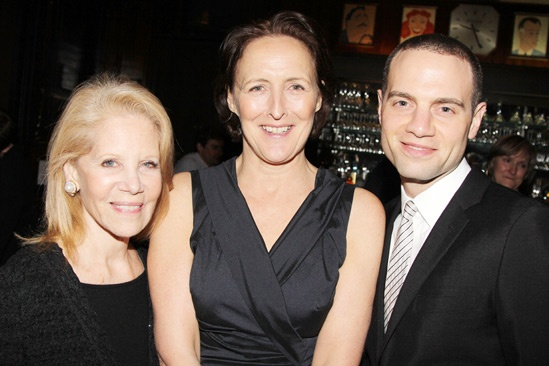 'Testament of Mary' Opening Night — Daryl Roth — Fiona Shaw — Jordan Roth