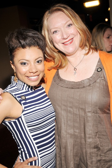 2013 Tony Nominee Brunch — Shalita Grant — Kristine Nielsen