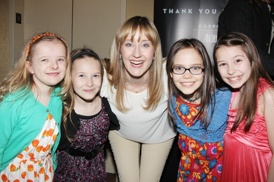 2013 Tony Nominee Brunch —  Milly Shapiro — Sophia Gennusa — Lauren Ward — Oona Laurence — Bailey Ryon