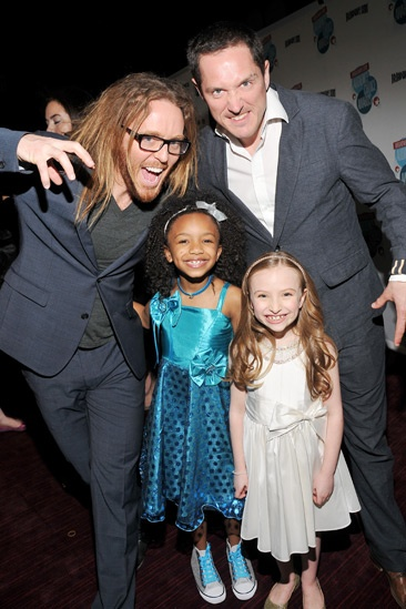 2013 Audience Choice Awards- Tim Minchin - Tyrah Skye Odoms- Emily Rosenfeld - Bertie Carvel