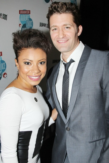 2013 Audience Choice Awards- Shalita Grant- Matthew Morrison
