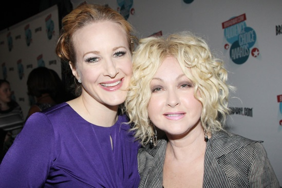 2013 Audience Choice Awards- Kate Finneran- Cyndi Lauper