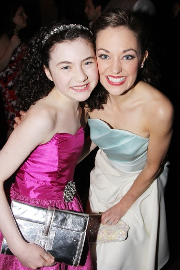 2013 Audience Choice Awards- Lilla Crawford- Laura Osnes