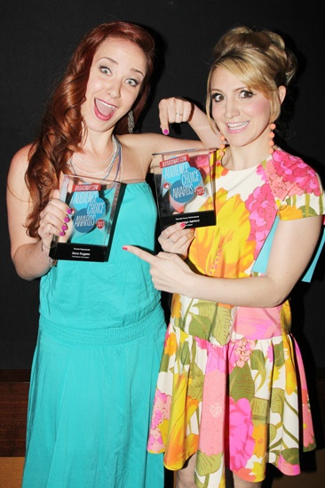 2013 Audience Choice Awards- Sierra Boggess- Annaleigh Ashford