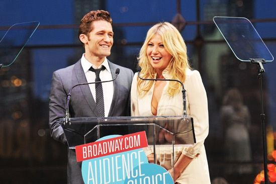 2013 Audience Choice Awards Ceremony — Matt Morrison — Ari Graynor